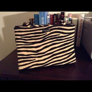 Authentic Kate Spade Zebra Shoulder Bag!